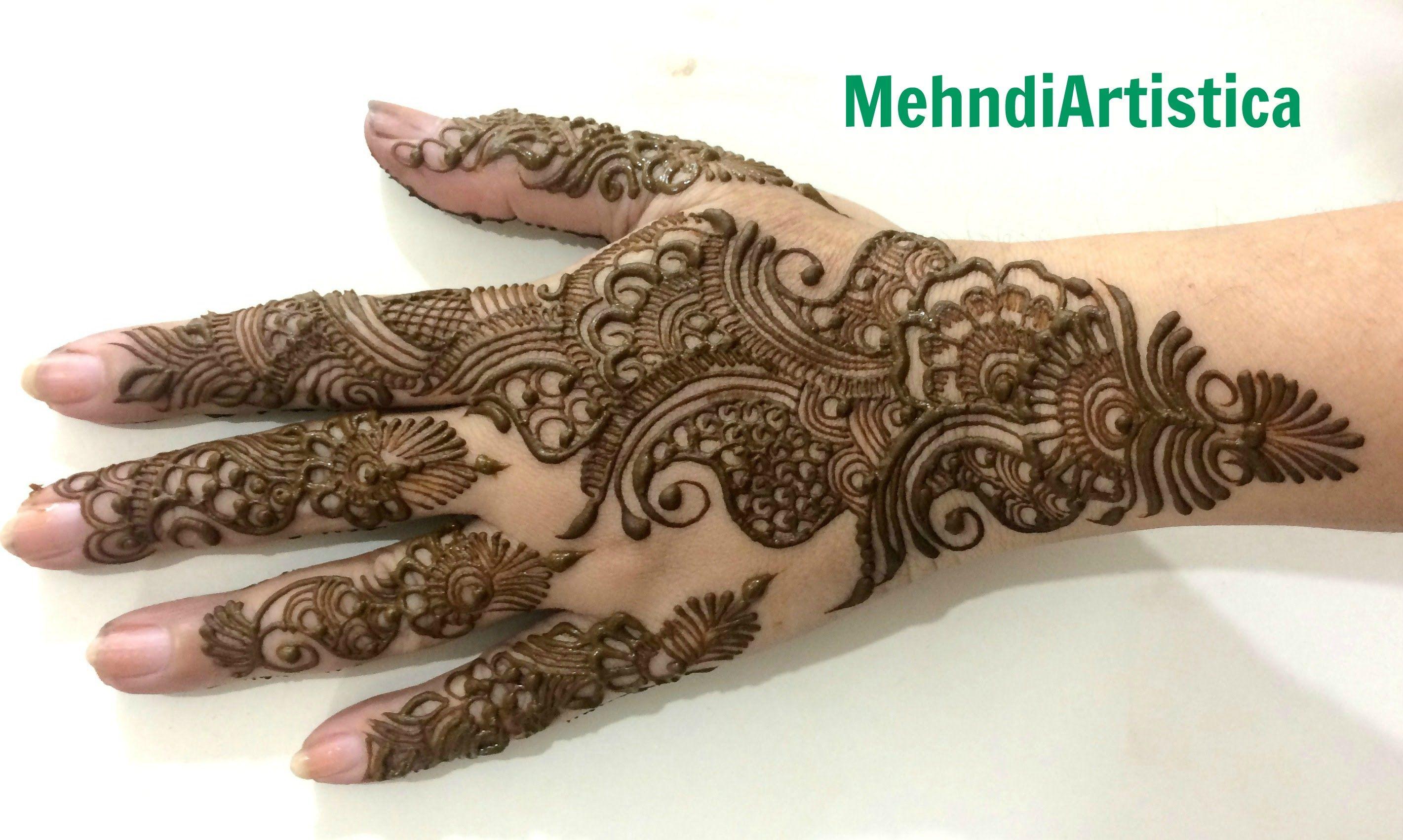 Henna Mehndi Edinburgh : Ramazan eid special henna design simple bridal designs