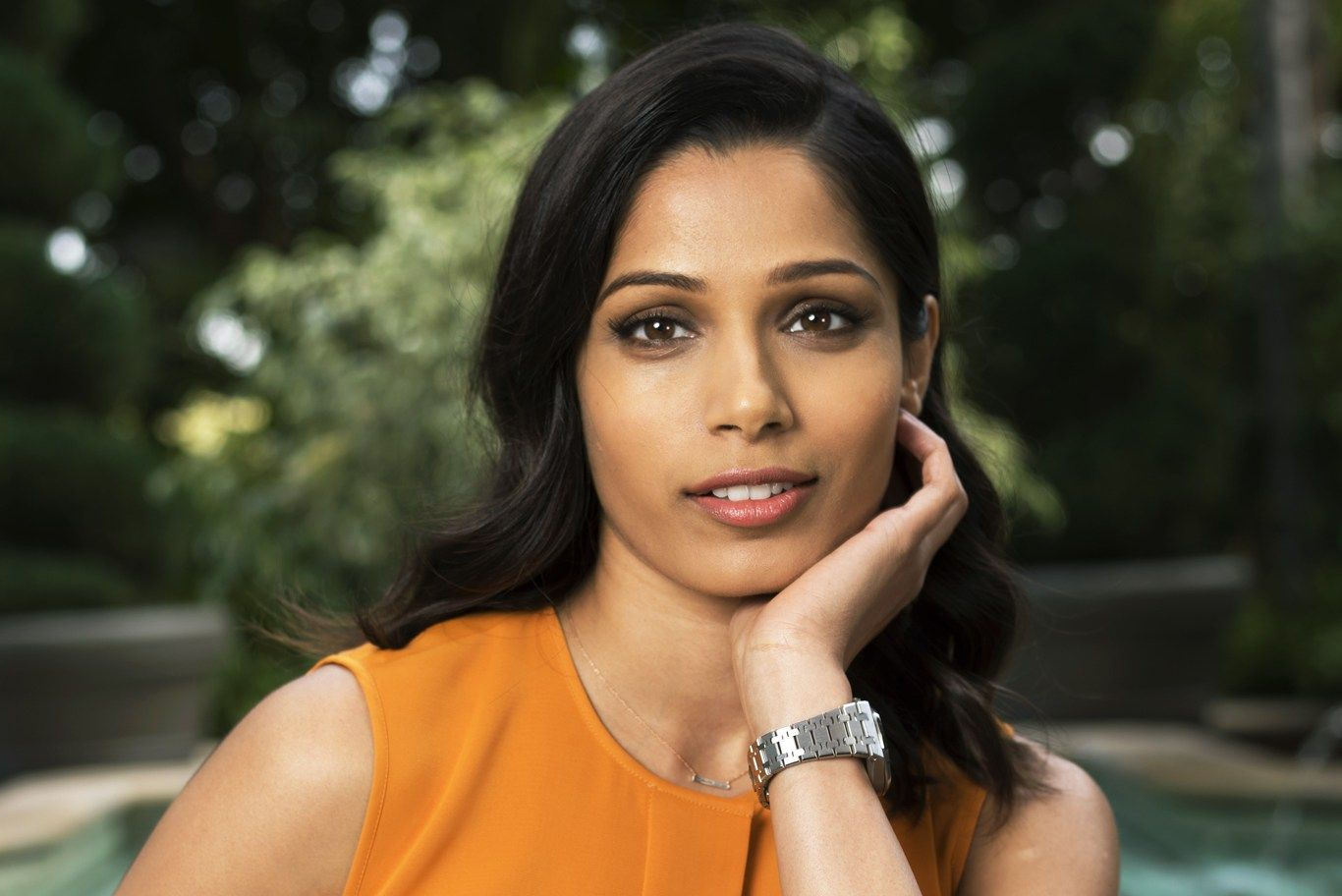 Freida Pinto on Diversity Stereotypes and Jessica Chastain