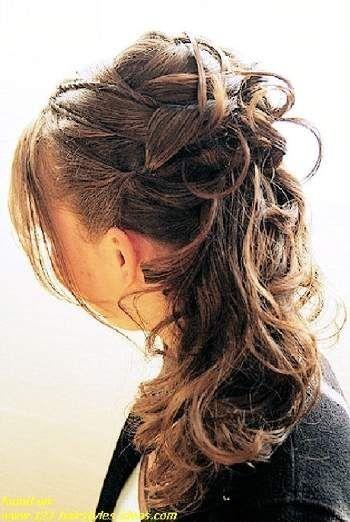 Bride Hairstyles 2012 Half Up Half Down Bride Hairstyles Hair Styles Bridesmaid Hair