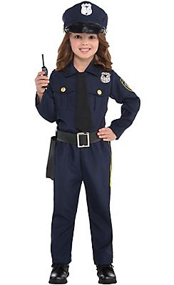 Toddler Girls Classic Police Officer Costume  sc 1 st  Pinterest & Toddler Girls Classic Police Officer Costume | Costumes | Pinterest ...