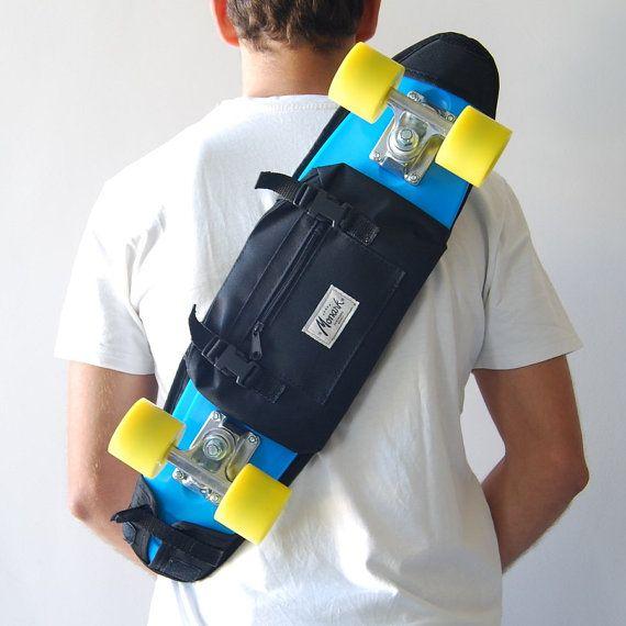 Skateboard Shoulder Bag For Children And S Pack By Monark Supply Penny Skate Skateboards Cruisers Plastic
