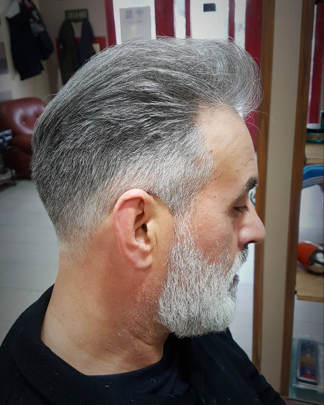 how to give an older man a haircut