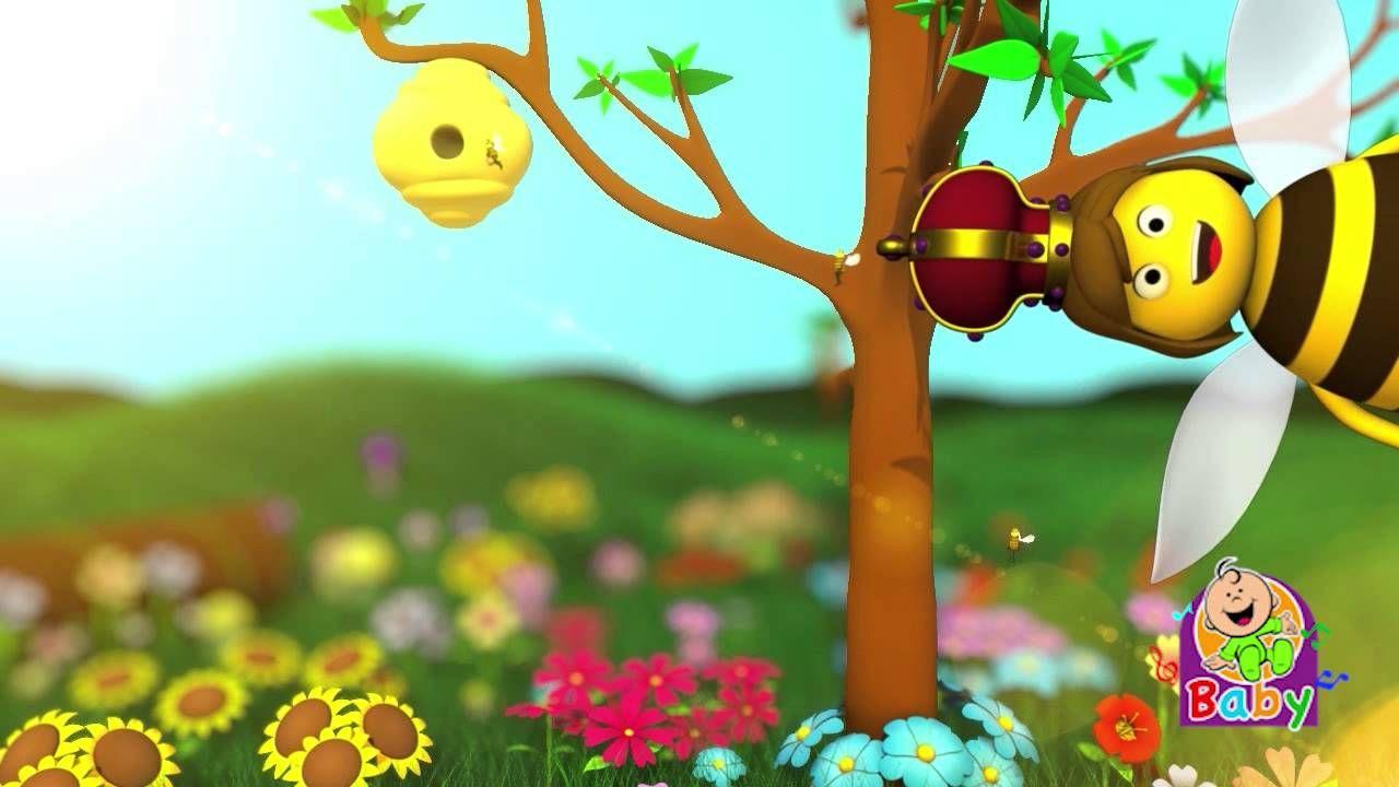 النحلة Arabic Rhyme About Bees Without Music Cartoon Kids Islamic Cartoon Mario Characters