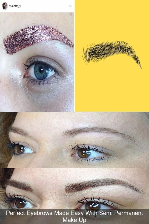Eyebrow Stencils | Eyebrows Falling Out | How To Apply ...