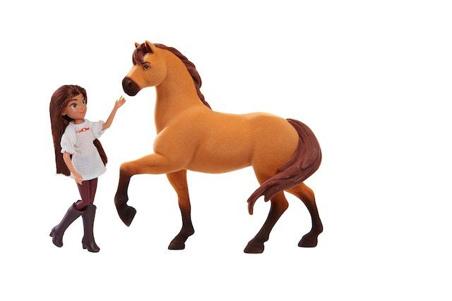 DreamWorks Spirit Riding Free Riders Club Classic Lucky And Set