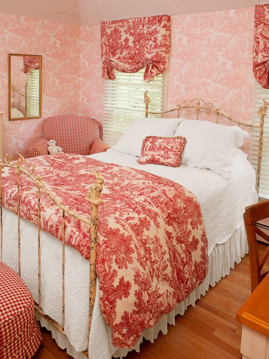 Image detail for -Red French Country bedroom French Country Decor ...