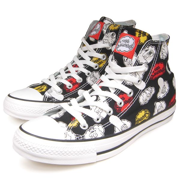 Converse All Star Chuck Taylor The Simpsons 2014 Limited