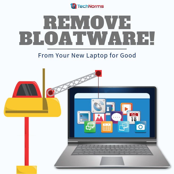 How To Remove Bloatware From Your New Laptop For Good New Laptops Laptop Screen Repair Laptop