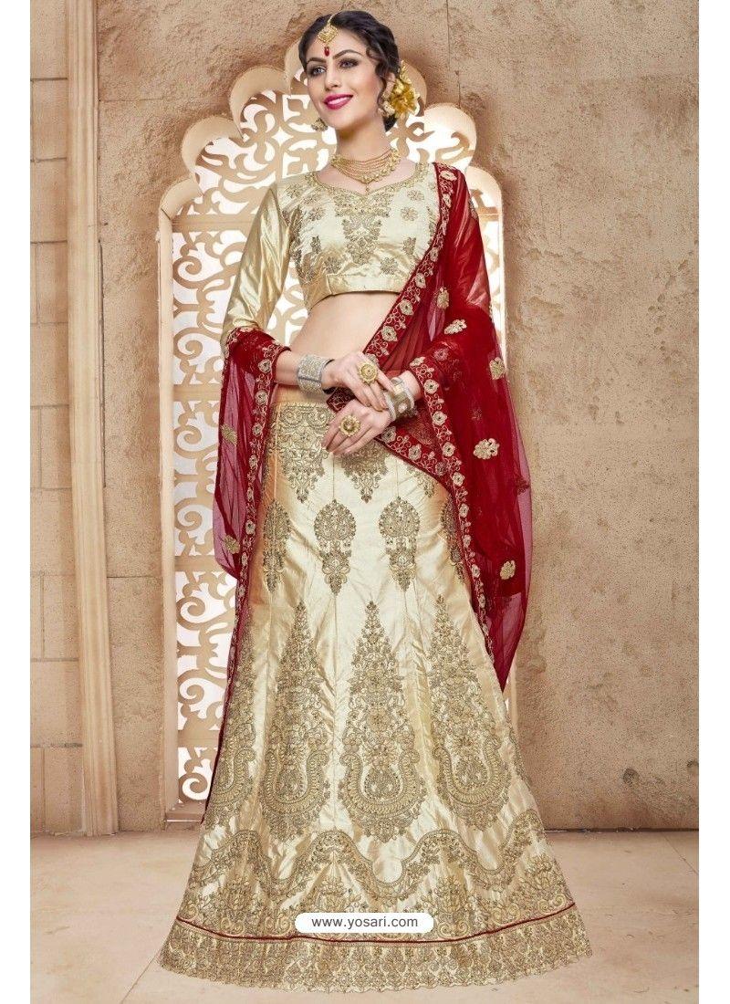 4c1d52894c Golden Banglori Satin Silk Lehenga Choli | Designer Lehenga Choli ...