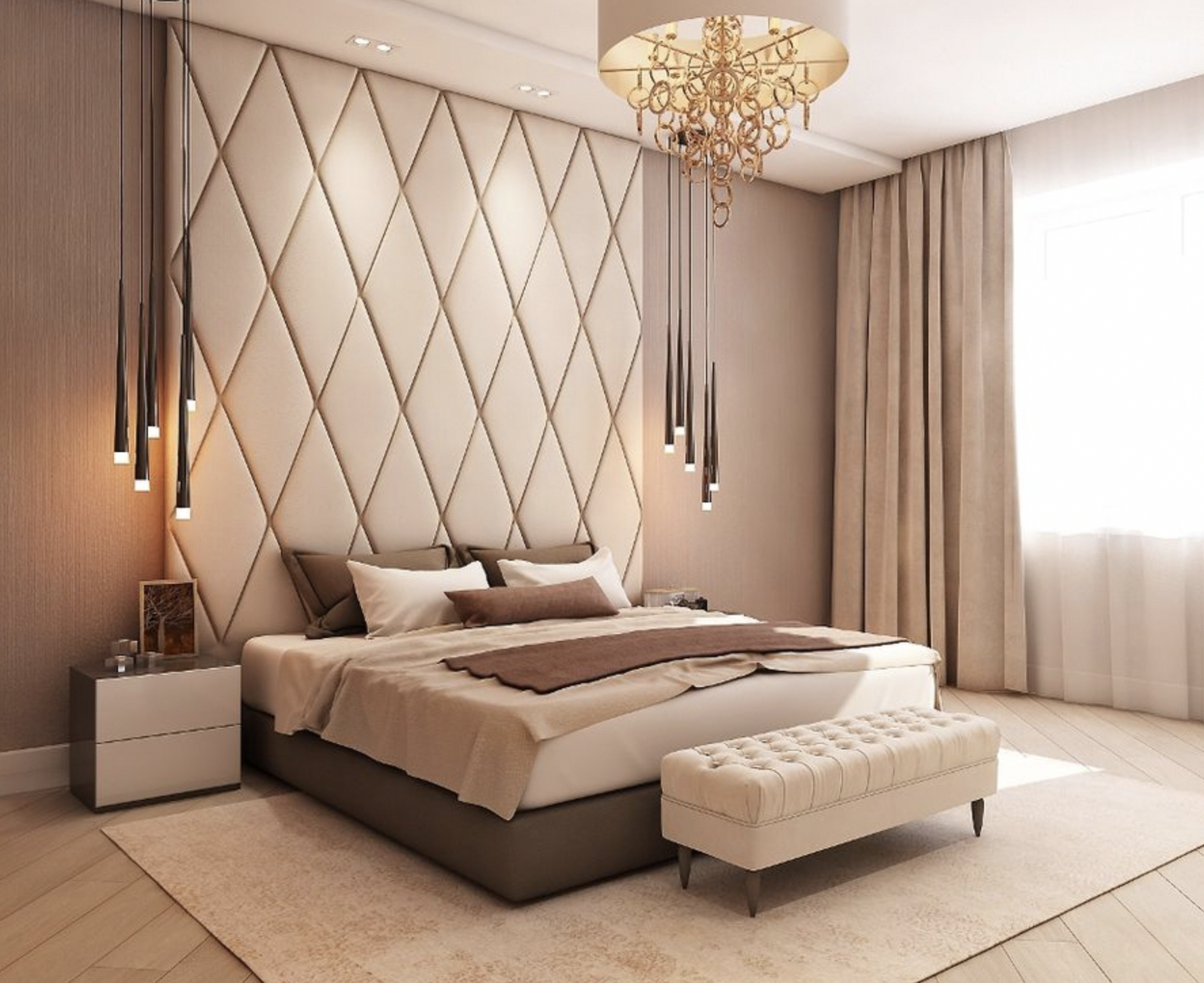 High End Bedroom Furniture Vanities With Mirror