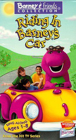 Riding In Barneys Car Vhs Warner Bros Television Http Www Amazon Com Dp 6303560628 Ref Cm Sw R Pi Dp 5gclub0rj89 Kids Tv Shows Kids Shows Barney Friends