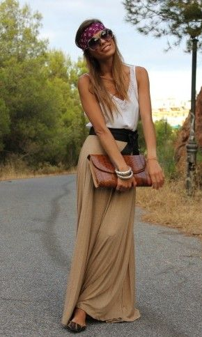 maxi... Never feel like I can get away with the hippie chic look, but I <3 it on others.