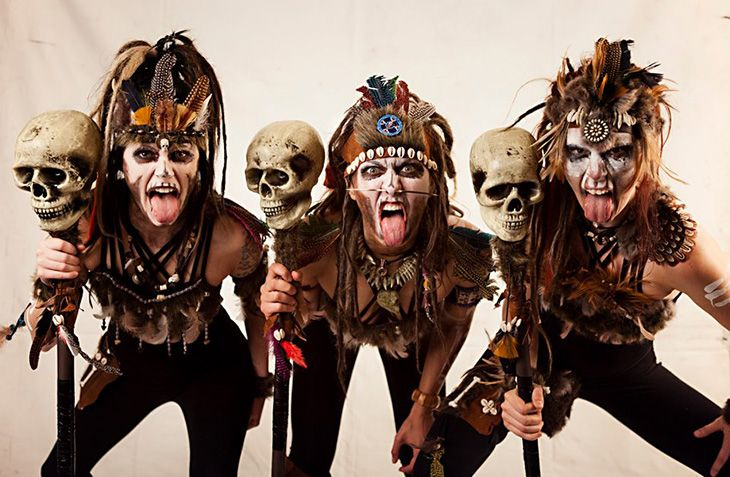 Caveman Dress Up Ideas : The weird sisters as witch doctors nails & makeup pinterest