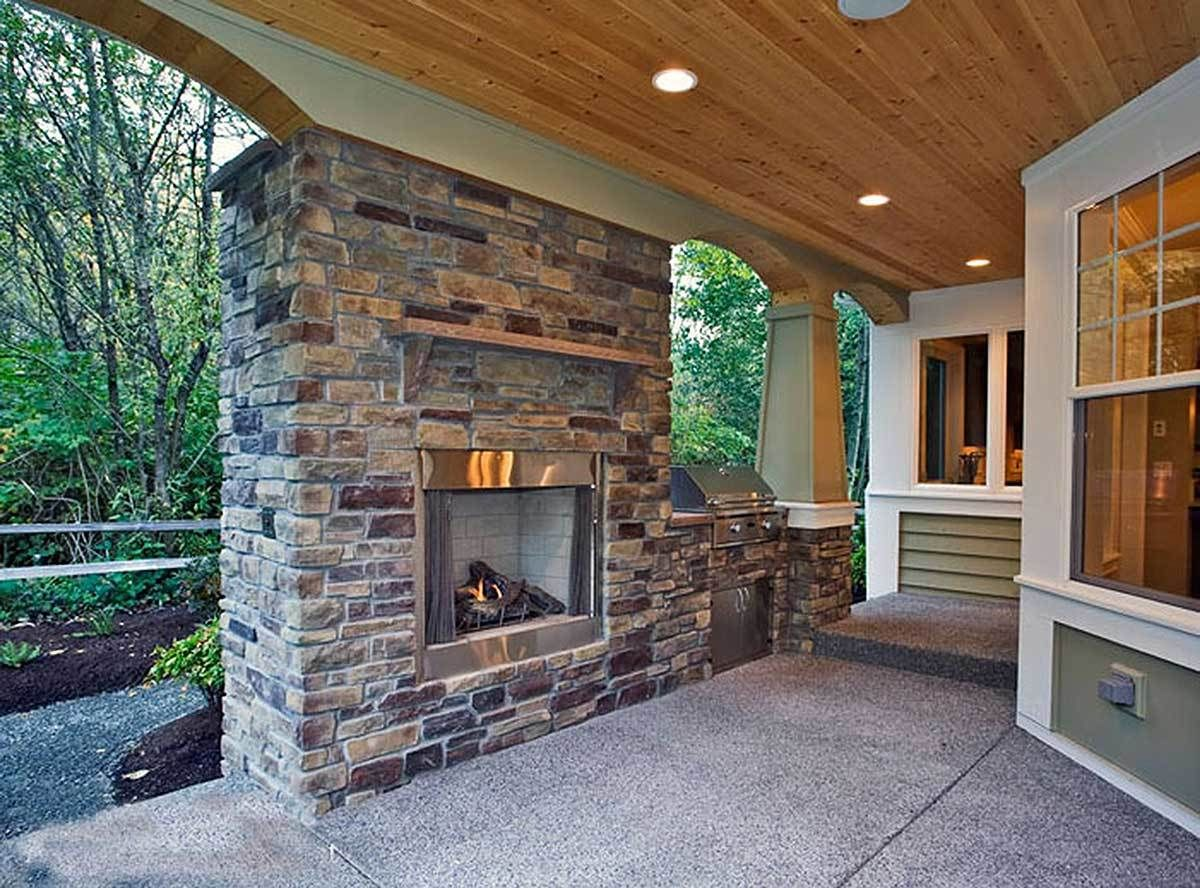 Complete with Outdoor Living Room | House plans, Outdoor ... on Complete Outdoor Living id=91902