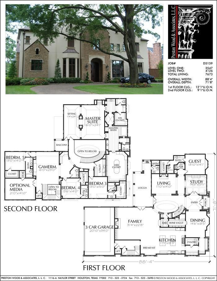Pin By Esther C V On House Plans Two Story House Plans House Construction Plan House Blueprints