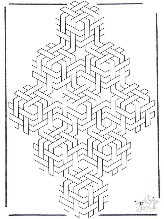 Pin de Holfman Cortes Parra en Geometría | Pinterest | Mandalas ...