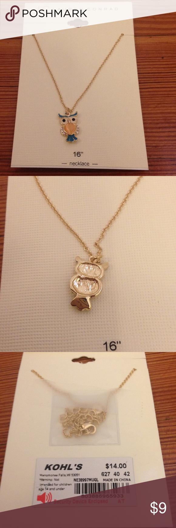"NWT LC Lauren Conrad 16"" Gold Tone Owl Necklace NWT LC Lauren Conrad 16"" Gold Tone Owl Necklace LC Lauren Conrad Jewelry Necklaces"
