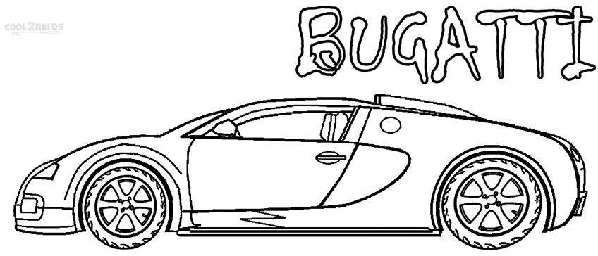 Bugatti Coloring Pages Dibujos Impresionantes Bugatti Dibujos