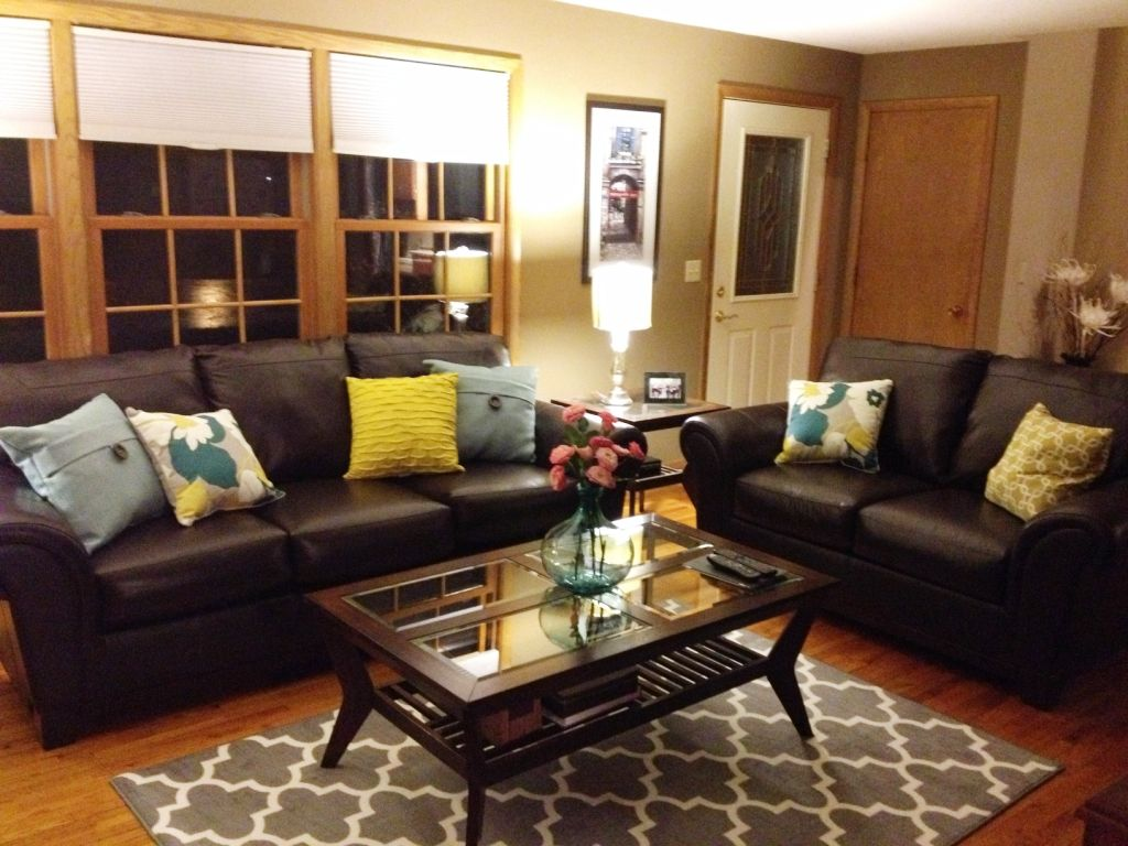 Brown Leather Couch Living Room Ideas | Leather couches ...