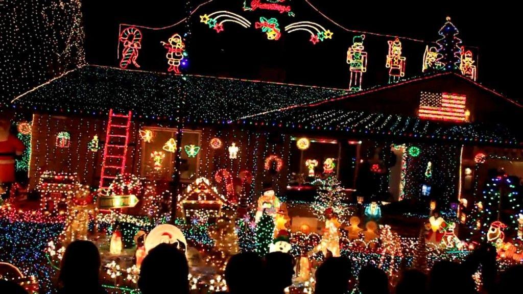 Christmas In Phoenix Tree Lighting Christmas Display Christmas Lights Christmas Themes
