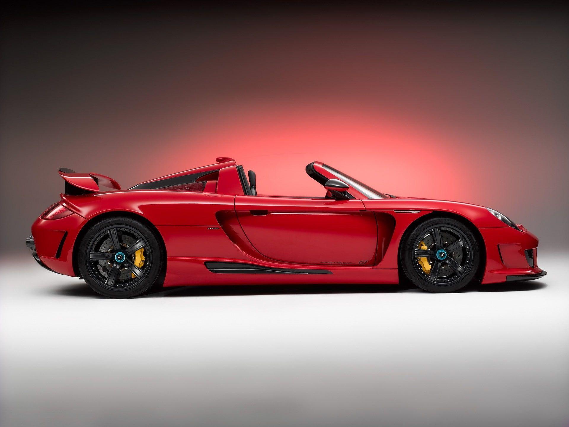 Car Carrera Gt Porsche Carrera Gt Porsche Vehicle Red Cars