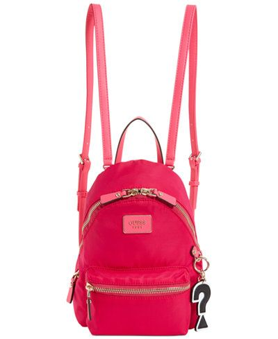 GUESS Cool School Small Leeza Backpack | Backpacks, Handbag ...