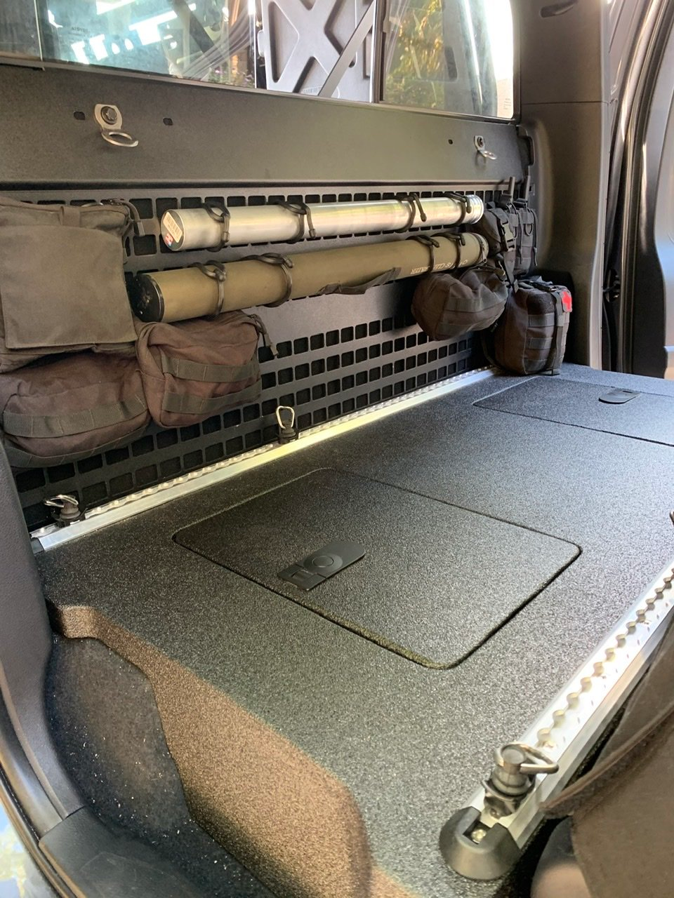 Everything Molle Bs In 2021 Decked Truck Bed Rear Seat Tacoma Mods