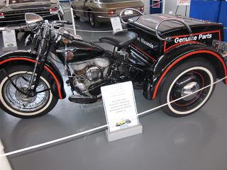 OldMotoDude: 1958 Harley-Davidson Servi Car at Northwest Vintage Car and Motorcycle Museum, Brooks Oregon