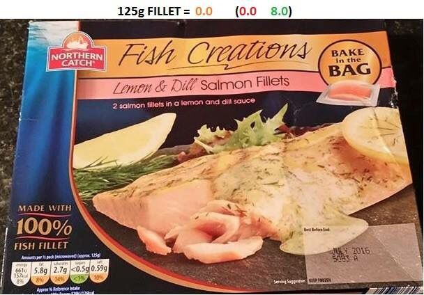 Aldi lemon & dill frozen salmon fillets | Diet Inspo | Aldi