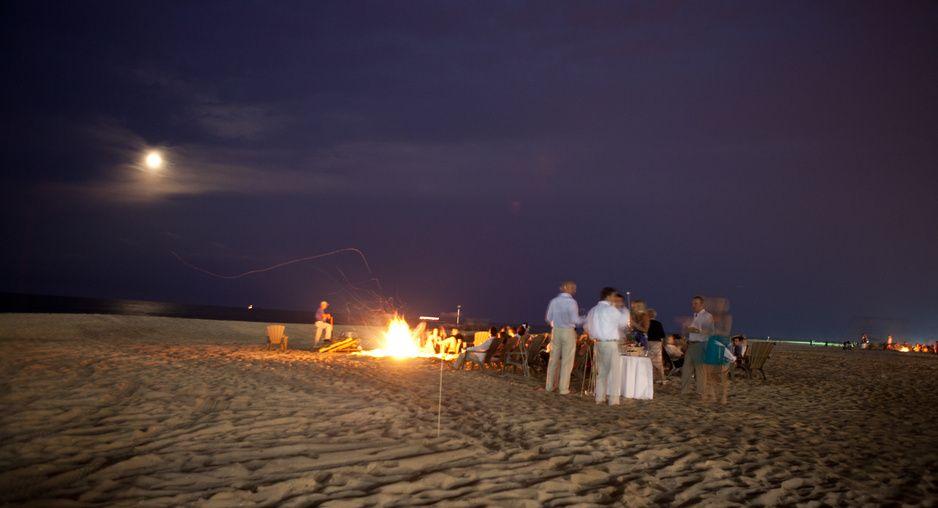 beach bonfire at ocean place resort spa long branch nj. Black Bedroom Furniture Sets. Home Design Ideas