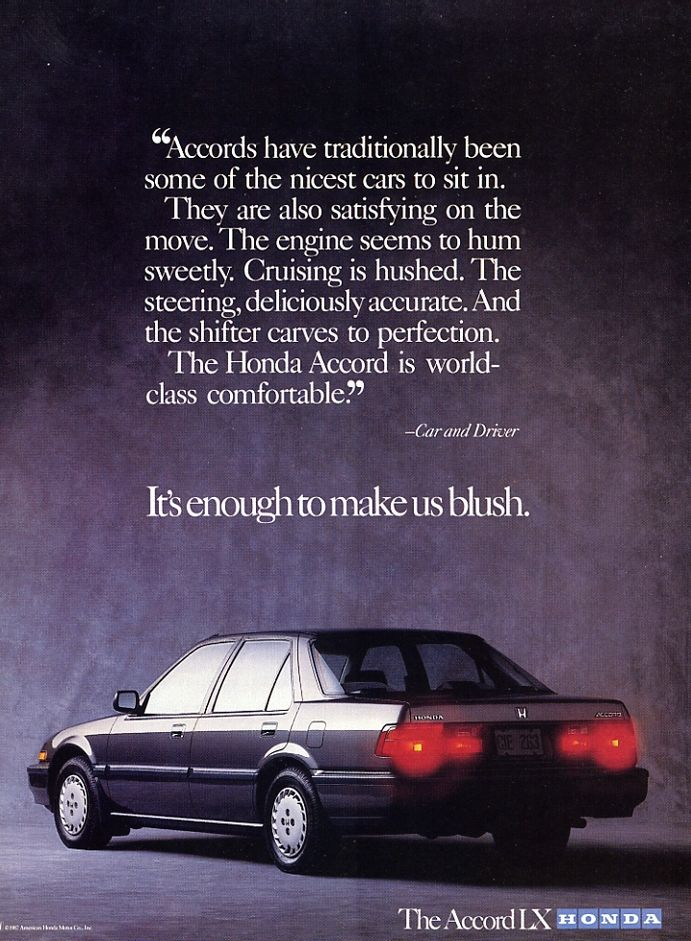 Honda Accord Lx 1986 Honda Accord Honda Honda Accord Lx