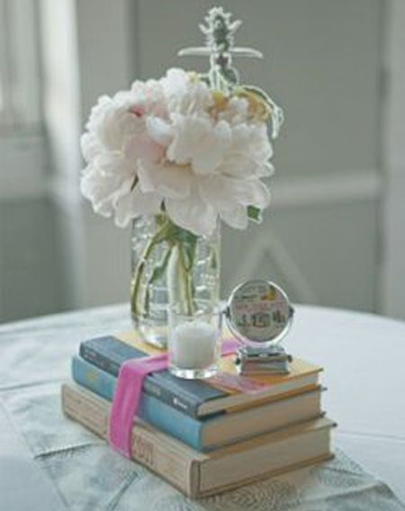 Simple graduation party centerpieces or end of school year