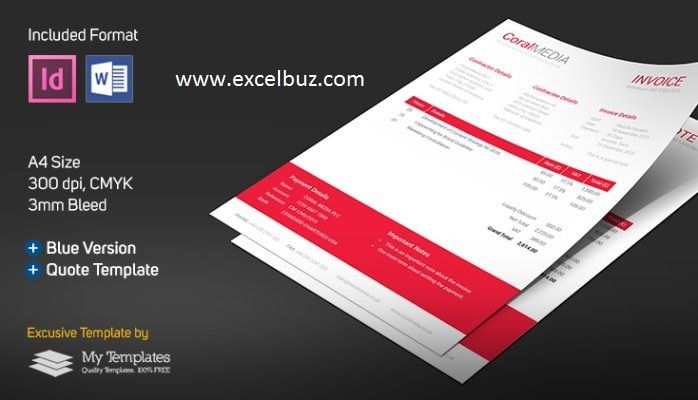 Ideas About Quotation Format Corporate Invoice By Becreative