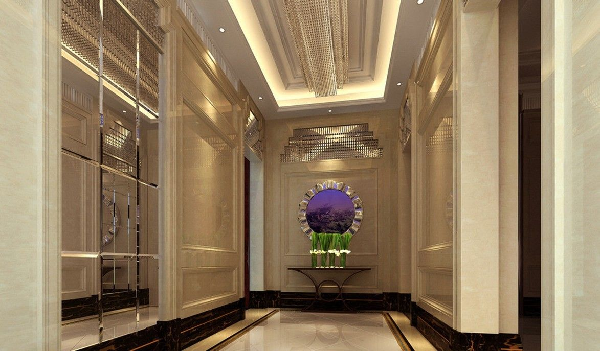 Home corridor design decoration wall