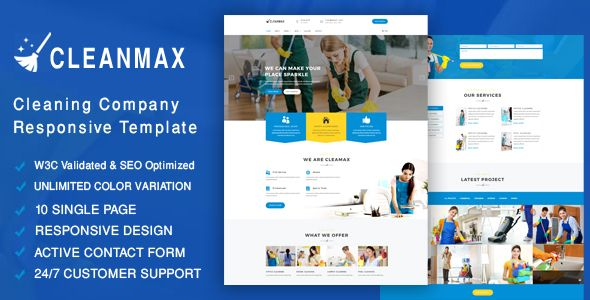 Cool cleanmax cleaning firm responsive template enterprise buy cleanmax cleaning company responsive template by blackgallery on themeforest cleanmax is a responsive and clean bootstrap template flashek Choice Image
