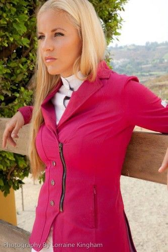af4528daf Love this Pink Animo show coat... probably would get red or blue ...