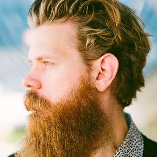 A profile shot of me by @toddwhite. #beardbrand #beards