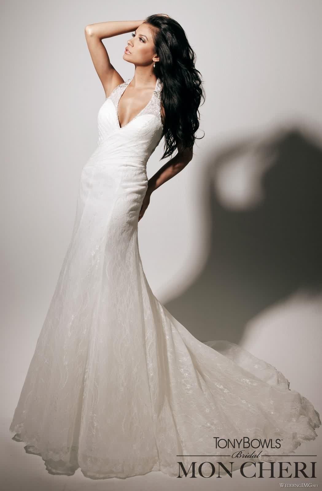 Slim fit wedding dresses  Mon Cheri T Mon Cheri Wedding Dresses Tony Bowls