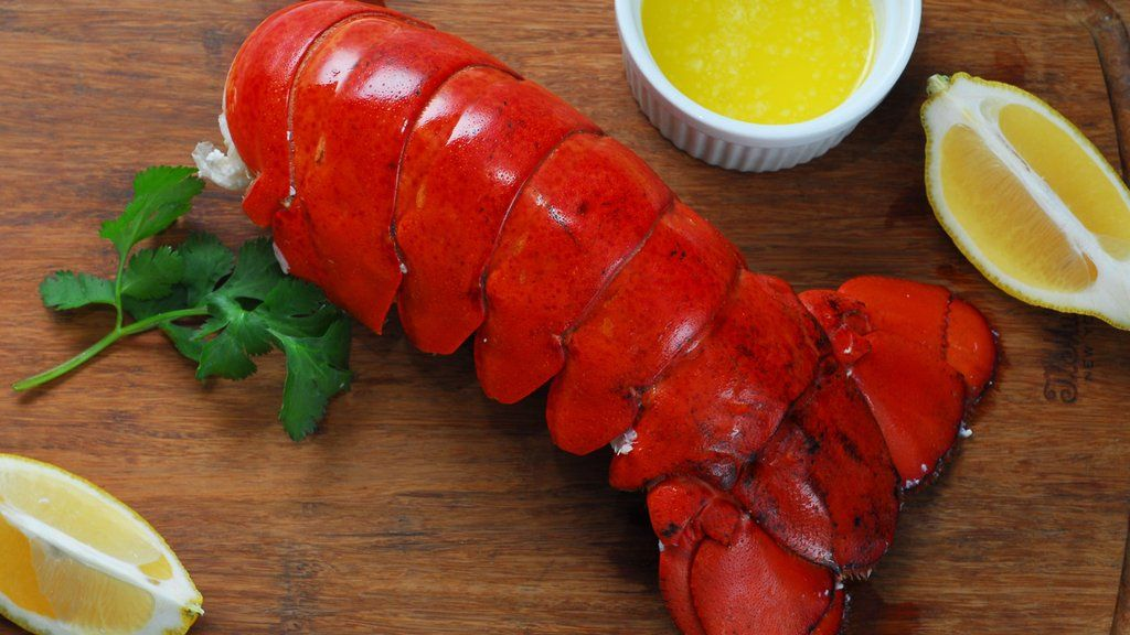 Buy 7 Maine Lobster Tails (4-5 oz), Get 7 FREE images