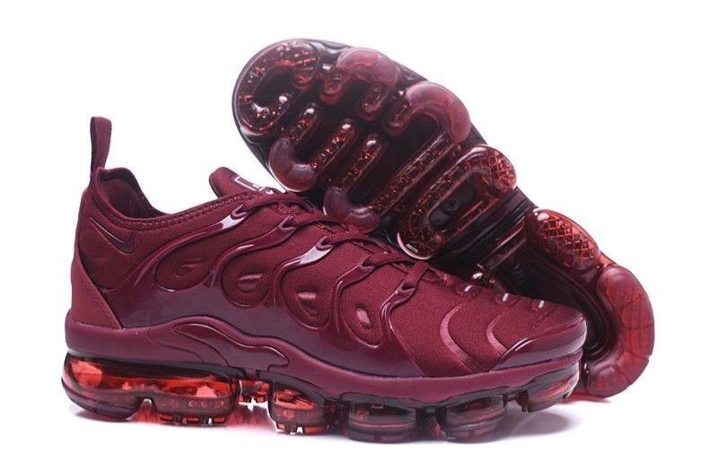 best service f0d13 26bbd Nike Vapormax Plus Burgundy #fashion #clothing #shoes ...