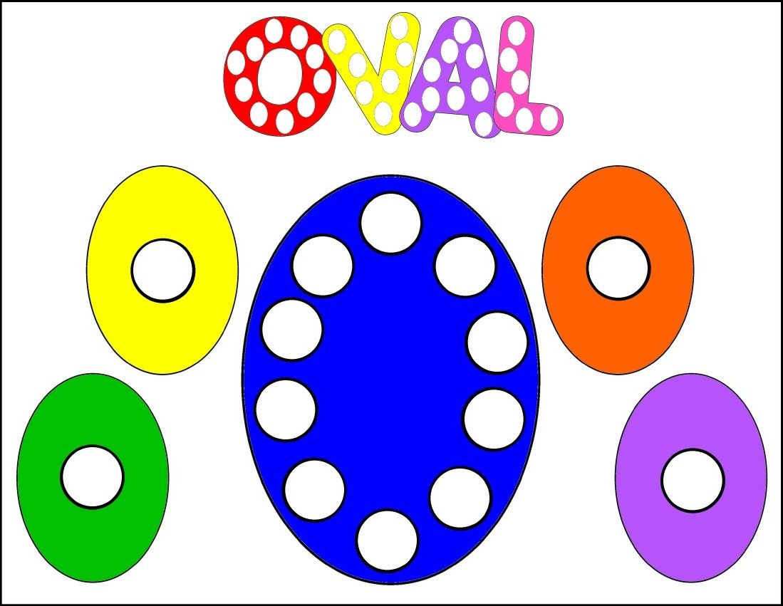 Oval Dot Activity