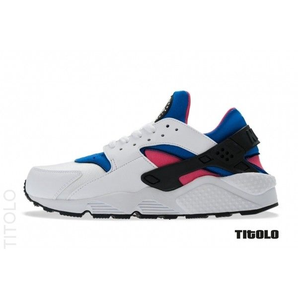 official photos d210e dabd0 ... Nike Air Huarache Runner OG White Game Royal Dynamic Pink New Detailed  Pictures White Game Royal . ...