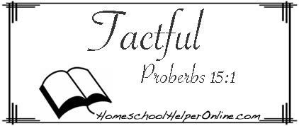 Tactful Character Study - Homeschool Helper Online