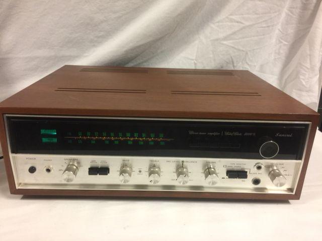 Super Nice Sansui 5000X AM/ FM Stereo Receiver   Vintage