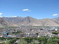 Lhasa Valley, Tibet