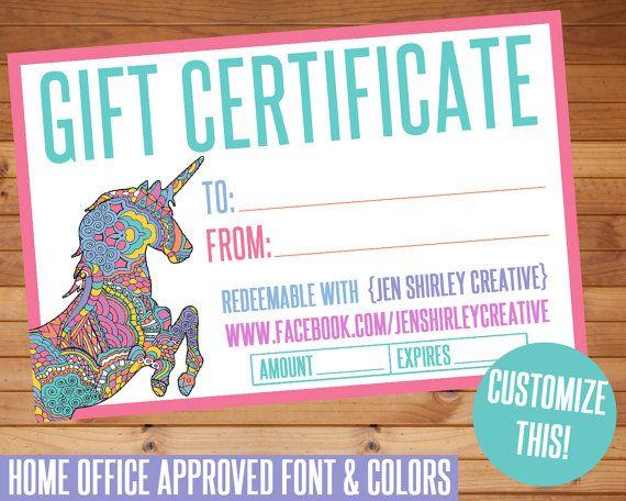 LuLaRoe, Gift Certificate, Custom Digital Files, Home Office ...