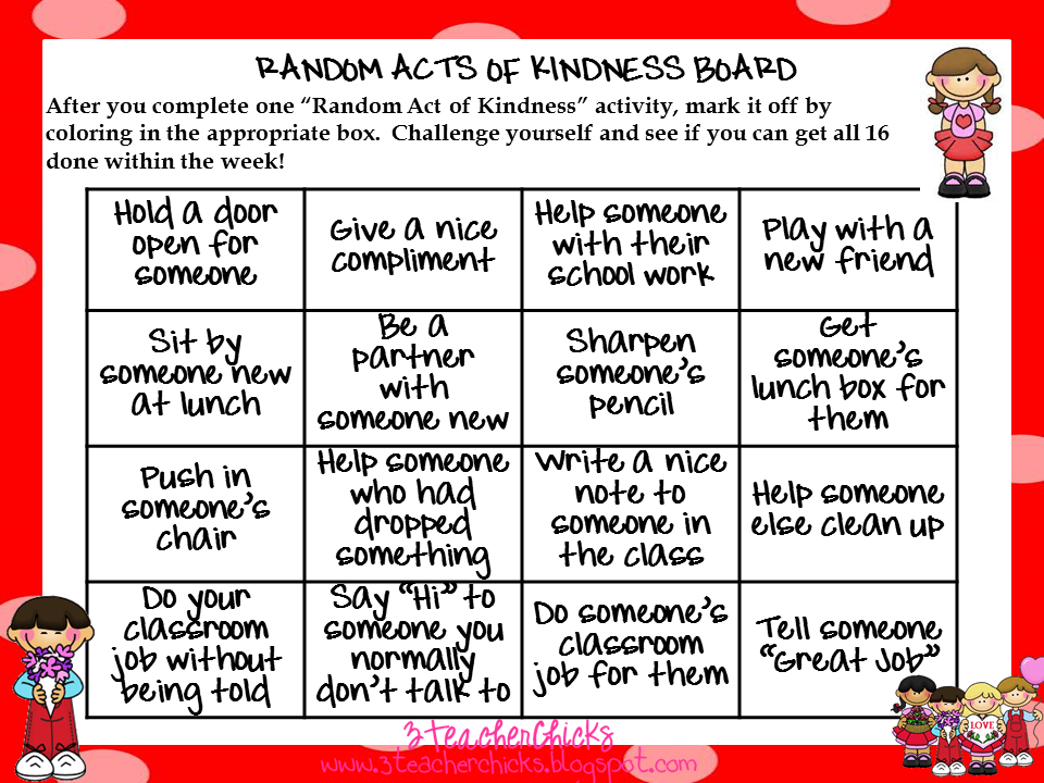 random acts of kindness ideas for teachers - Google Search ...