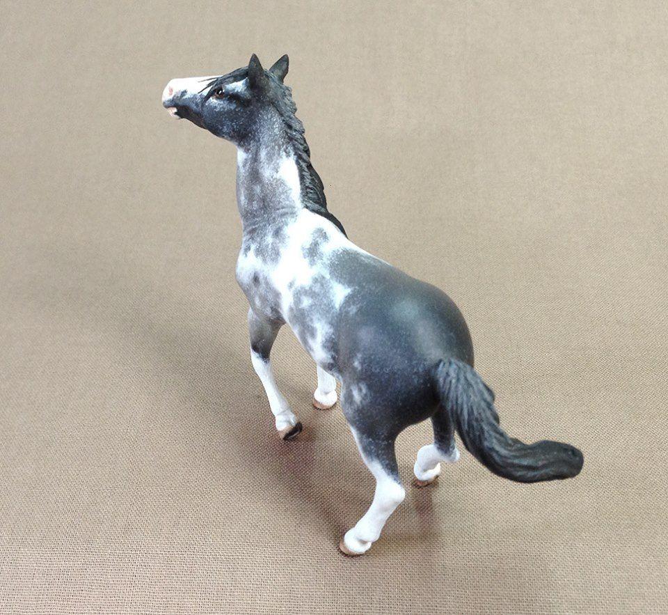 """Freedom"" custom stablemate Custom horse, Breyer horses"