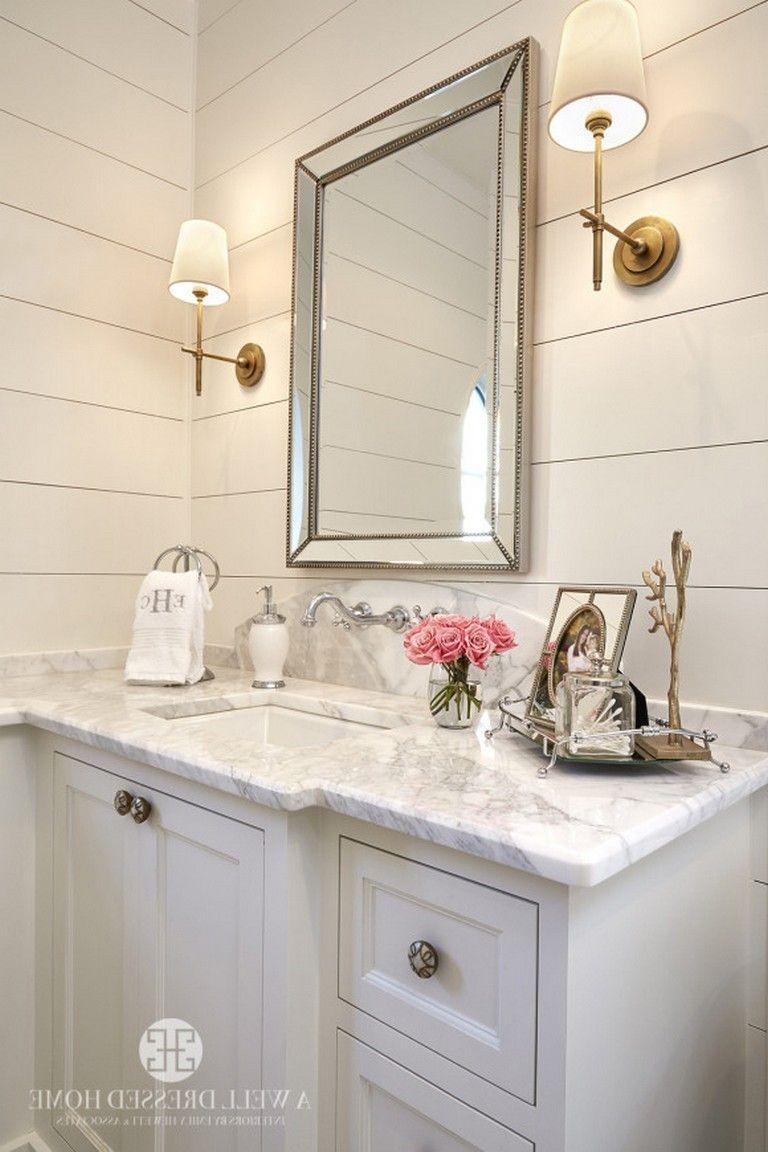 15 simple glam master bathroom ideas  master bathroom