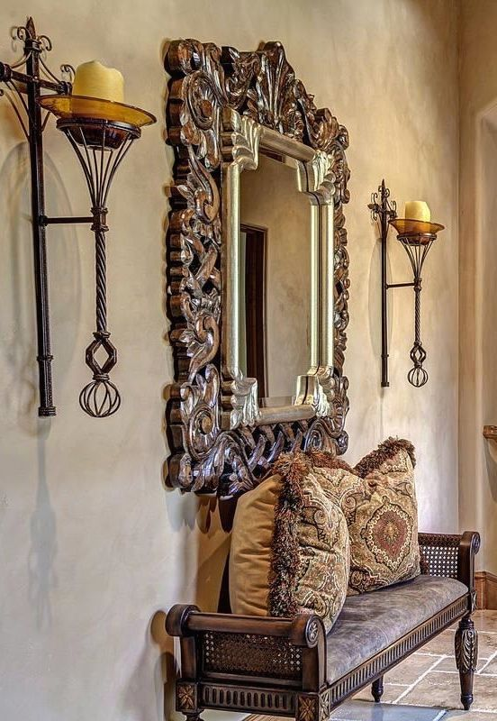 Best 25 Mediterranean Style Framed Mirrors Ideas On